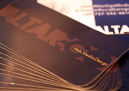 Altarego Media Business Cards