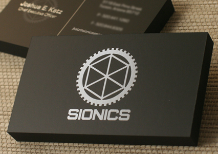 SIONICS | Silk Business Card by PremiumCards.net