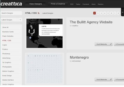 Creattica HTML / CSS