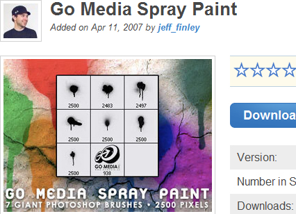 Go Media Spray Paint
