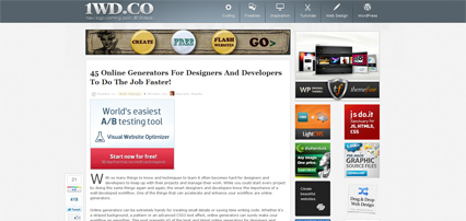 45 Online Generators For Designers And Developers To Do The Job Faster!