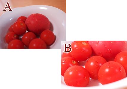 トマトAとB