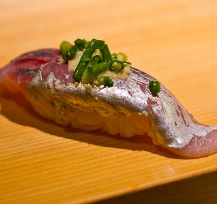 アジのお寿司(一貫)
