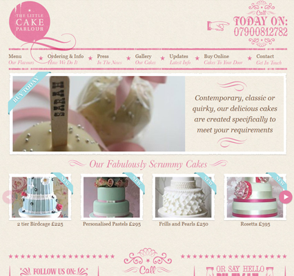 The Little Cake Parlour